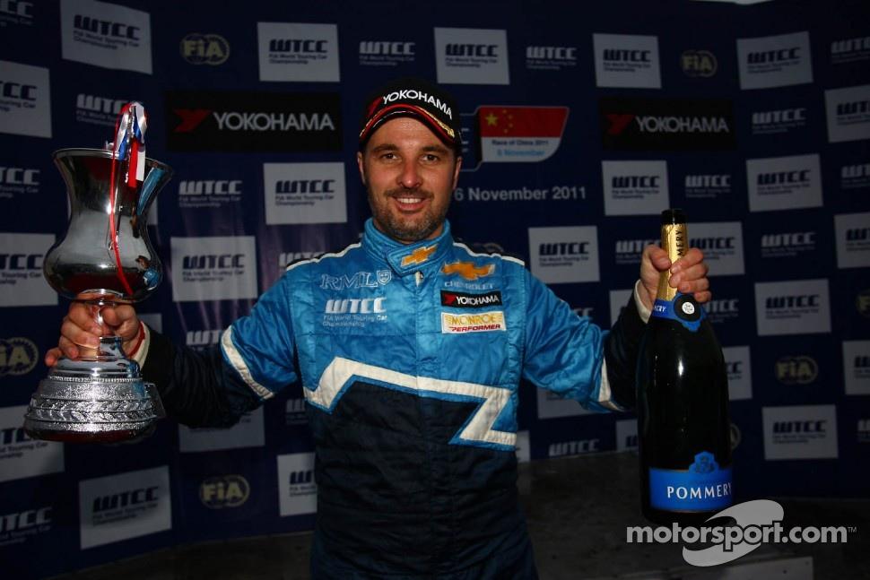 Yvan Muller, Chevrolet Cruz 1.6T, Chevrolet race winner