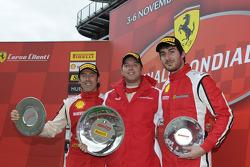 Trofeo Pirelli F430 Italia race 2 podium