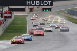 Finale Mondiale Coppa Shell race start