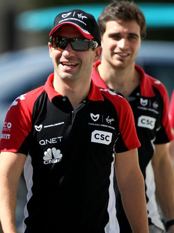 Timo Glock, Virgin Racing ve Jerome d'Ambrosio, Virgin Racing