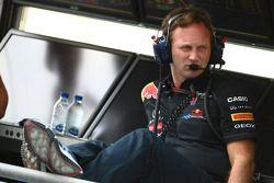 Кристиан Хорнер, руководитель команды Red Bull Racing
