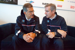 BMW Motorsport meet the press: Dr. Mario Theissen and Jens Marquardt