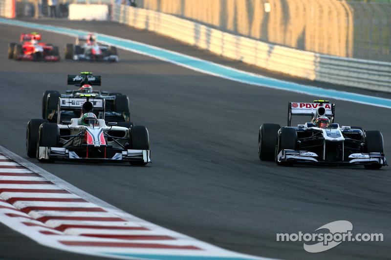 GP de Abu Dhabi 2011 Carrera