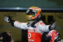 Le vainqueur Lewis Hamilton, McLaren Mercedes