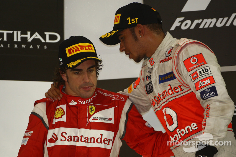 75- Fernando Alonso, 2º en el GP de Abu Dhabi 2011 con Ferrari