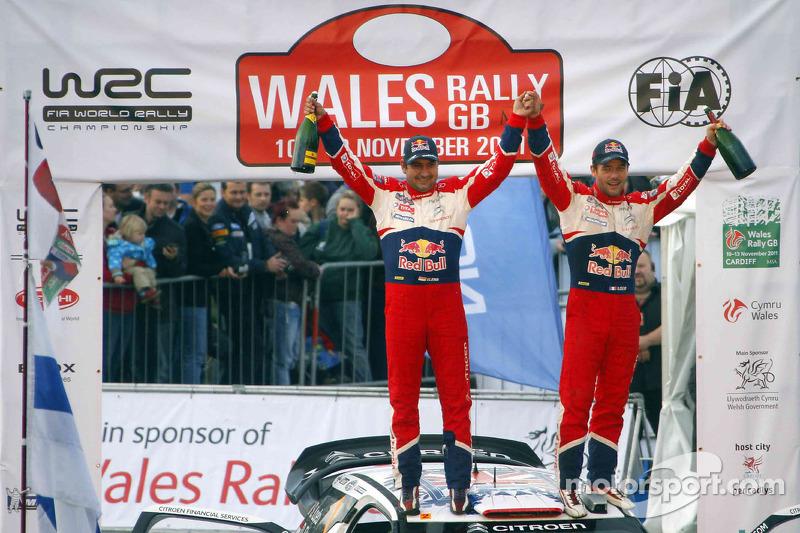 Sébastien Loeb y Daniel Elena, campeones del mundial de rallies (WRC) 2011