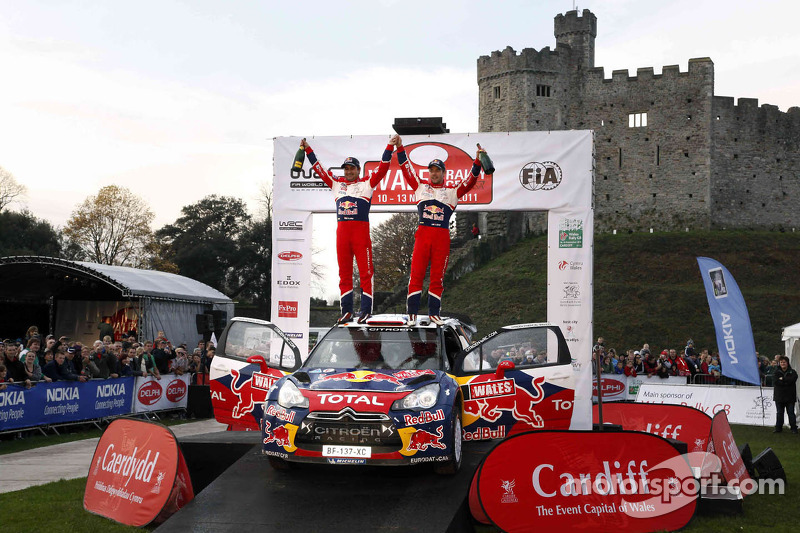 Sébastien Loeb y Daniel Elena, Citroën DS3 WRC, Citroën Total World Rally Team