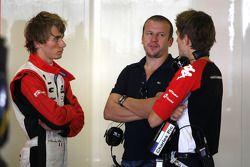 Charles Pic, Virgin Racing and Olivier Panis
