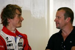 Charles Pic, Virgin Racing and Olivier Panis