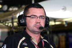 Eric Boullier, directeur d'équipe, Lotus Renault GP