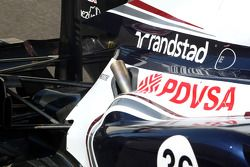 Williams F1 Team, Technical detay exhaust system