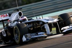 Valtteri Bottas, Williams F1 Team piloto de prueba