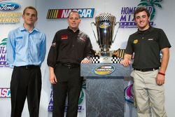 Championship contenders press conference: NASCAR Camping World Series contenders James Buescher, Joh