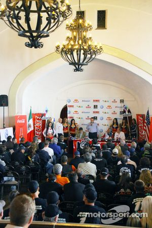 The opening press conference