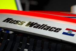 Russ Wallace op de wagen van Kenny Wallace, Benton Toyota