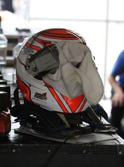 Felipe Nasr's helmet