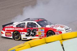 Dave Blaney, Tommy Baldwin Racing Chevrolet crash
