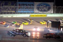 Landon Cassill, Chevrolet na crash