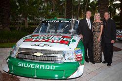 NASCAR Camping World Truck Series winnende eigenaar Kevin Harvick, Kevin Harvick Inc. Chevrolet, Del
