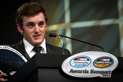 NASCAR Camping World Truck Series champion driver Austin Dillon, RCR Chevrolet receives the most popular driver award