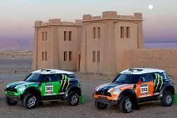 X-Raid Rally Team with their new MINI All4