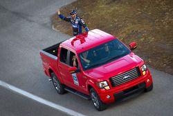 Introduction des pilotes: Jimmie Johnson, Hendrick Motorsports Chevrolet