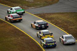 Les voitures retournent en piste