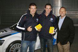 Sébastien Ogier, Julien Ingrassia et Kris Nissen, Volkswagen Motorsport