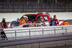 Kenny Wallace, Benton Toyota na crash