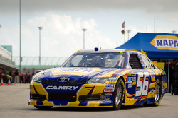 El Toyota de Martin Truex Jr., Michael Waltrip Racing