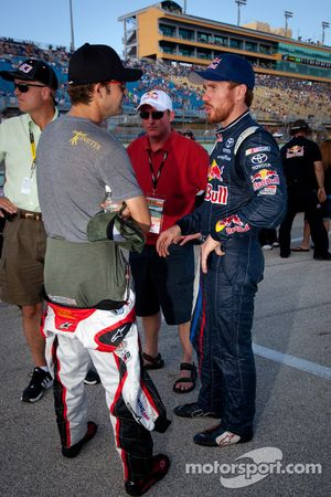 Stanton Barrett en Brian Vickers, Red Bull Racing Team Toyota
