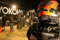A midnight pitstop for Desert Assassin team