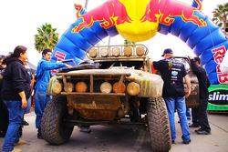 The Desert Assassin team truck