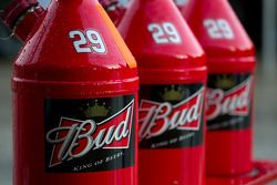 Gas can for Kevin Harvick, Richard Childress Racing Chevrolet
