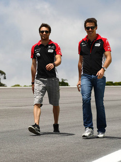 J��r��me d'Ambrosio, Marussia Virgin Racing ve Robert Wickens