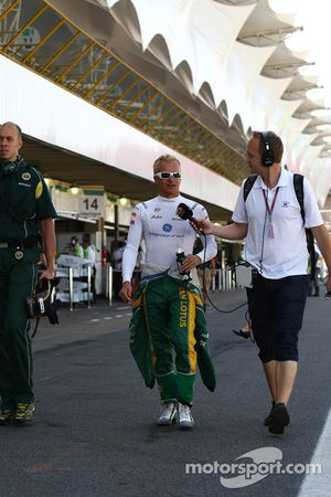 Хейкки Ковалайнен, Team Lotus
