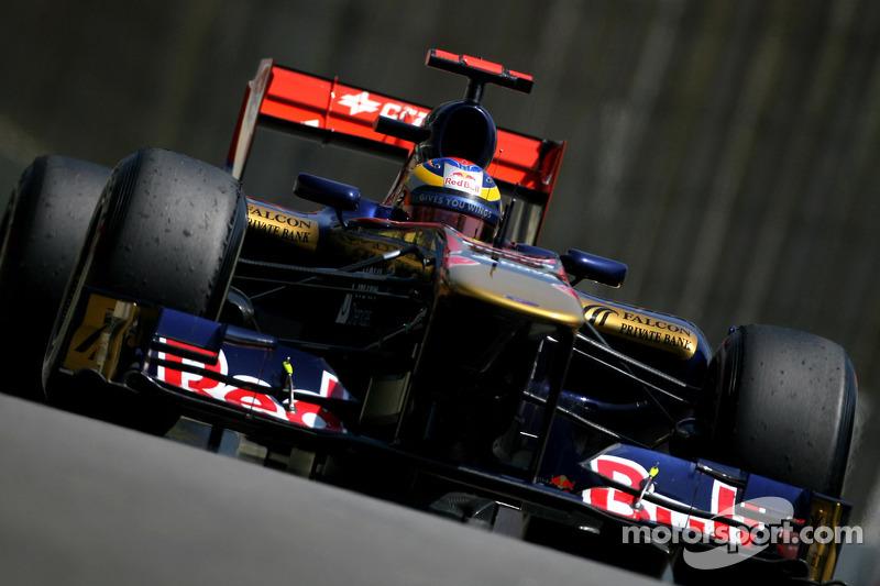 Jean-Eric Vergne, Test Pilotu, Scuderia Toro Rosso