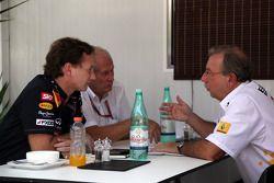 Christian Horner, Red Bull Racing, Sporting Director met Helmut Marko, Red Bull Racing, Red Bull Adv