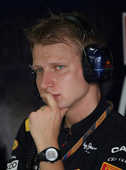 Tommi Parmakoski, trainer of Sebastian Vettel, Red Bull Racing