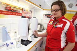 Shell oil ve fuel testi unit
