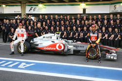 McLaren Mercedes teamfoto