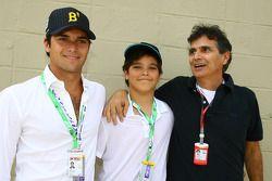Nelson A. Piquet en vader Nelson Piquet
