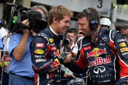 Sebastian Vettel, Red Bull Racing meeste polsposities in een seizoen