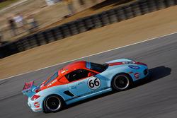 Jack W. Baker 2010 Gulf JWA Porsche Cayman Interseries