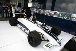 Nelson Piquet, in de Brabham BT49