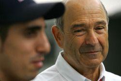 Peter Sauber, Sauber F1 Team, Team Owner en Sebastien Buemi, Scuderia Toro Rosso