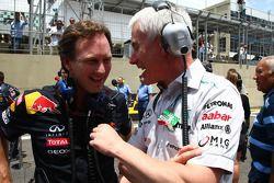 Christian Horner, Red Bull Racing, Sporting Director en Geoff Willis