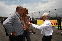 Ron Dennis con Bernie Ecclestone