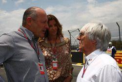 Ron Dennis en Bernie Ecclestone