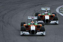 Адриан Сутиль, Force India и Пол ди Реста, Force India F1 Team
